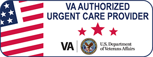 VA Authorized Urgent Care Provider Web Badge 180x67